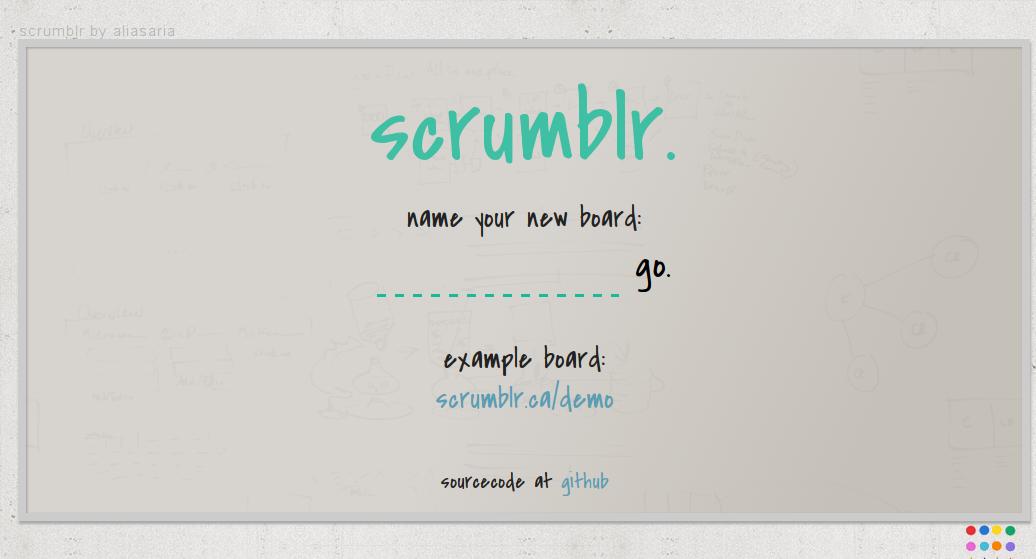 scrumblr Screenshot 2