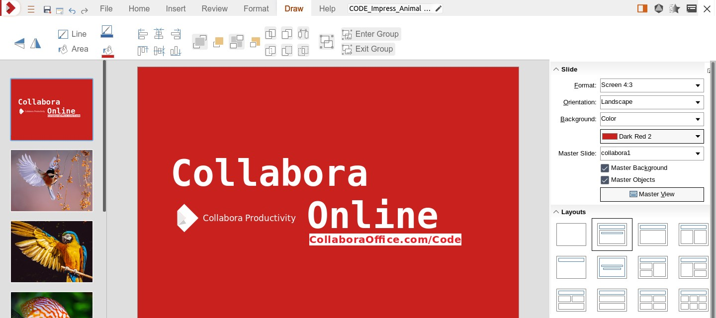 Collabora Office Screenshot 1