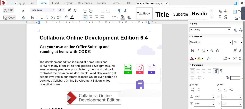 Collabora Office Screenshot 2