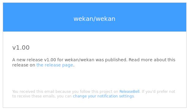 ReleaseBell Screenshot 1