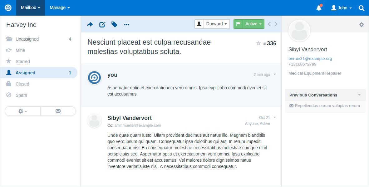 FreeScout Screenshot 1
