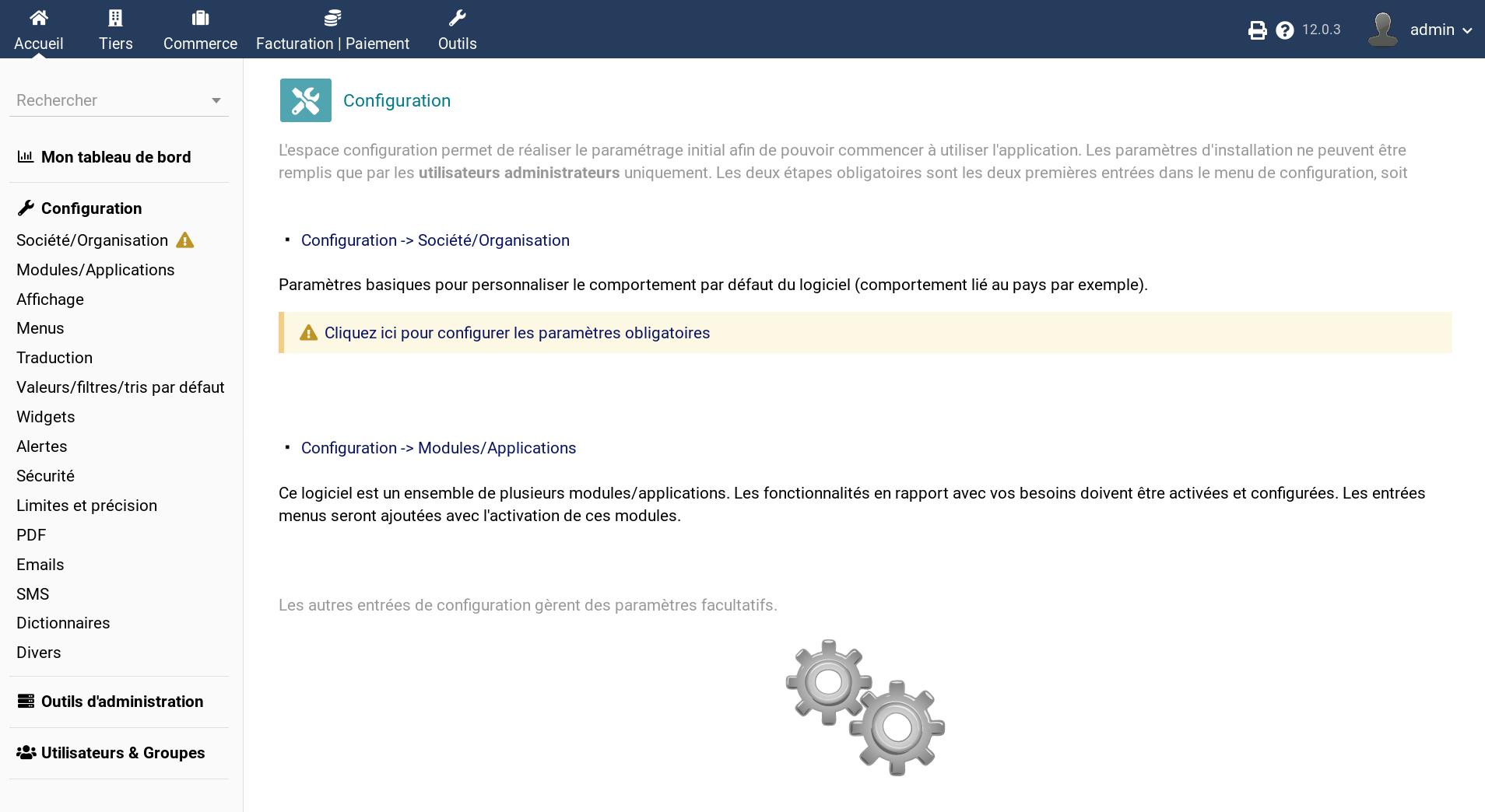 Dolibarr Screenshot 2