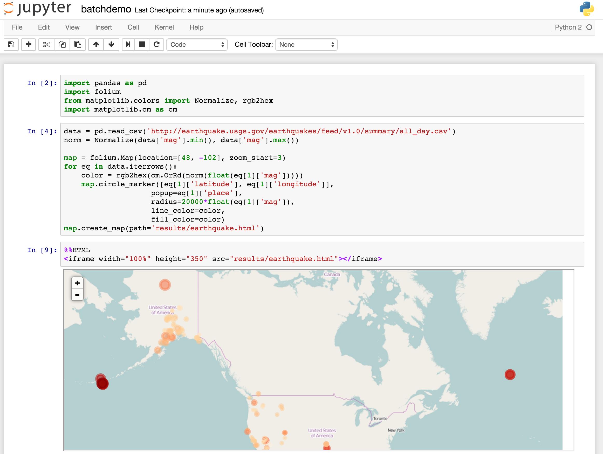 Jupyter Hub Screenshot 1