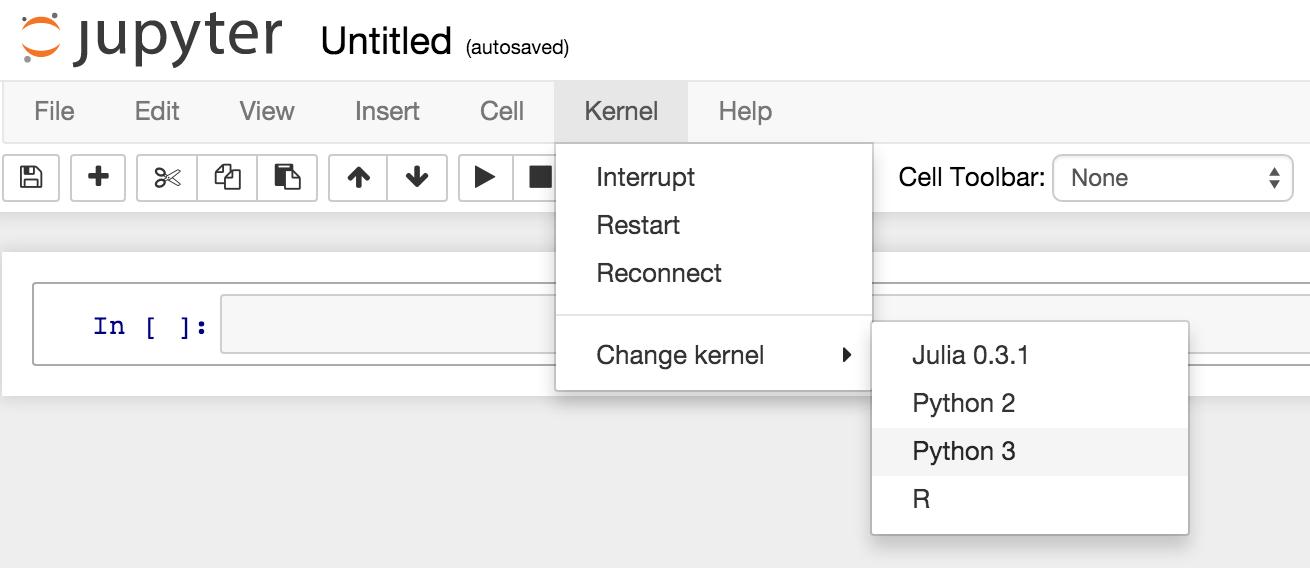 Jupyter Hub Screenshot 2