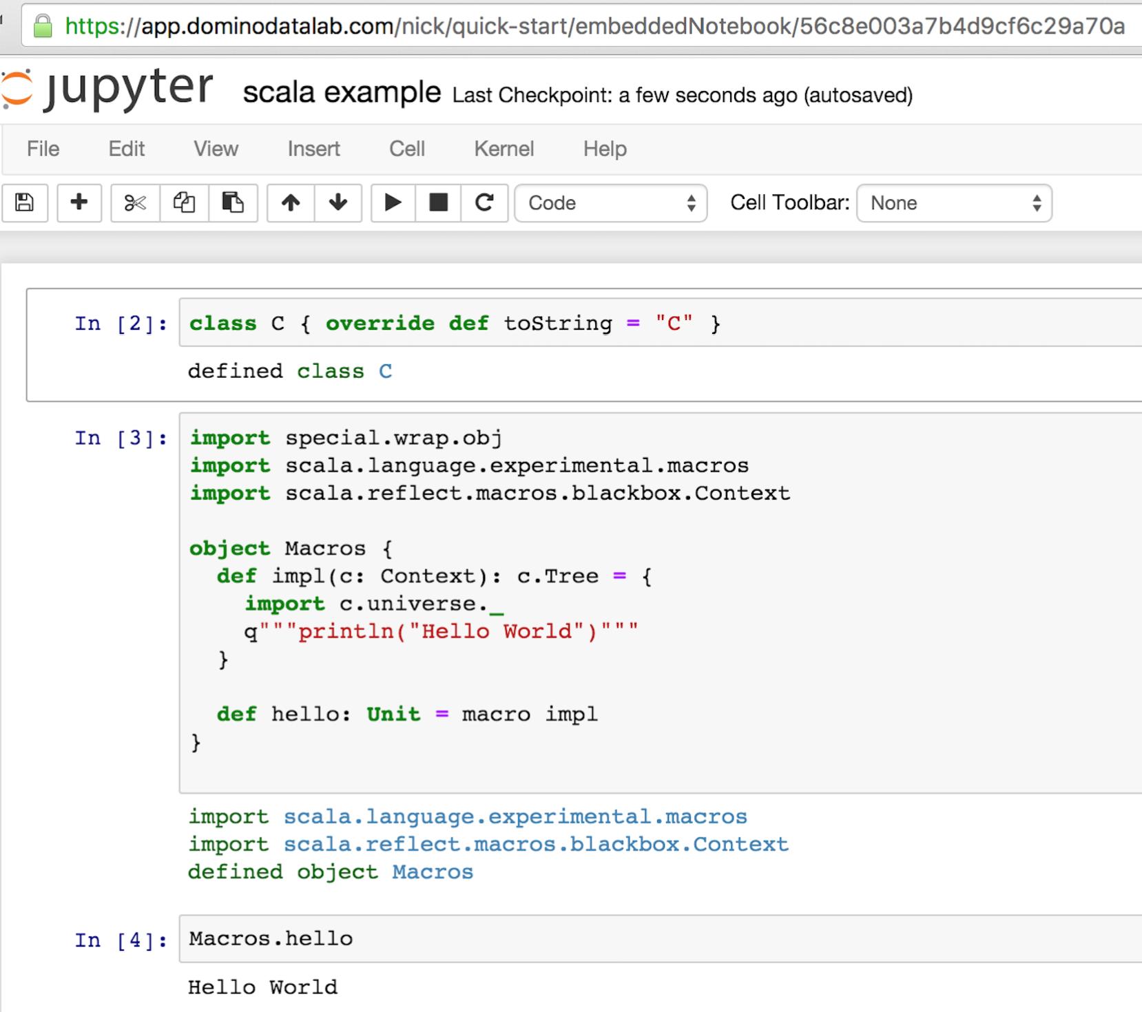 Jupyter Hub Screenshot 3