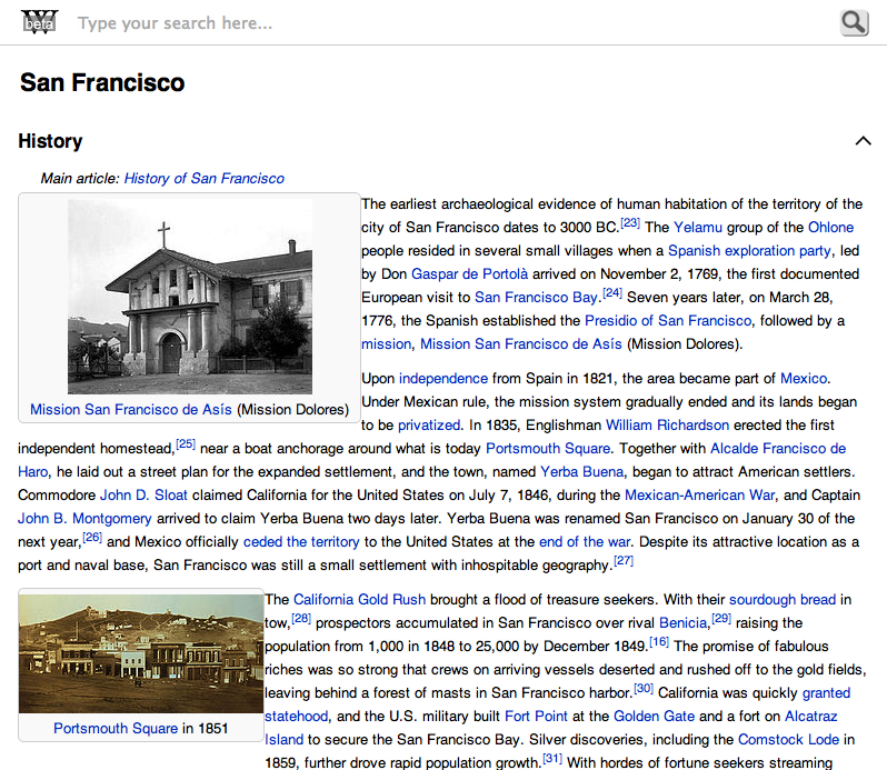 MediaWiki Screenshot 1