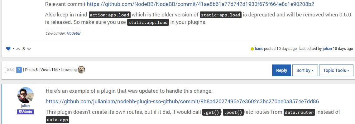 NodeBB Screenshot 3