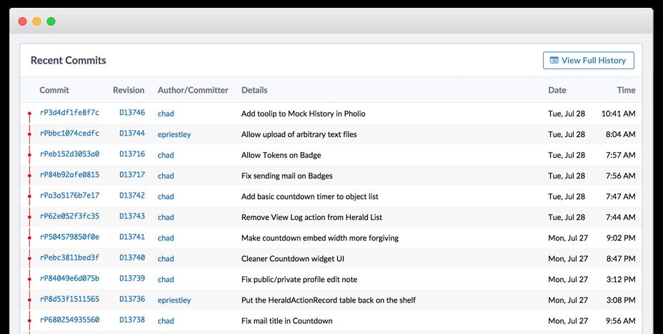 Phabricator Screenshot 2