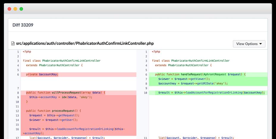Phabricator Screenshot 4