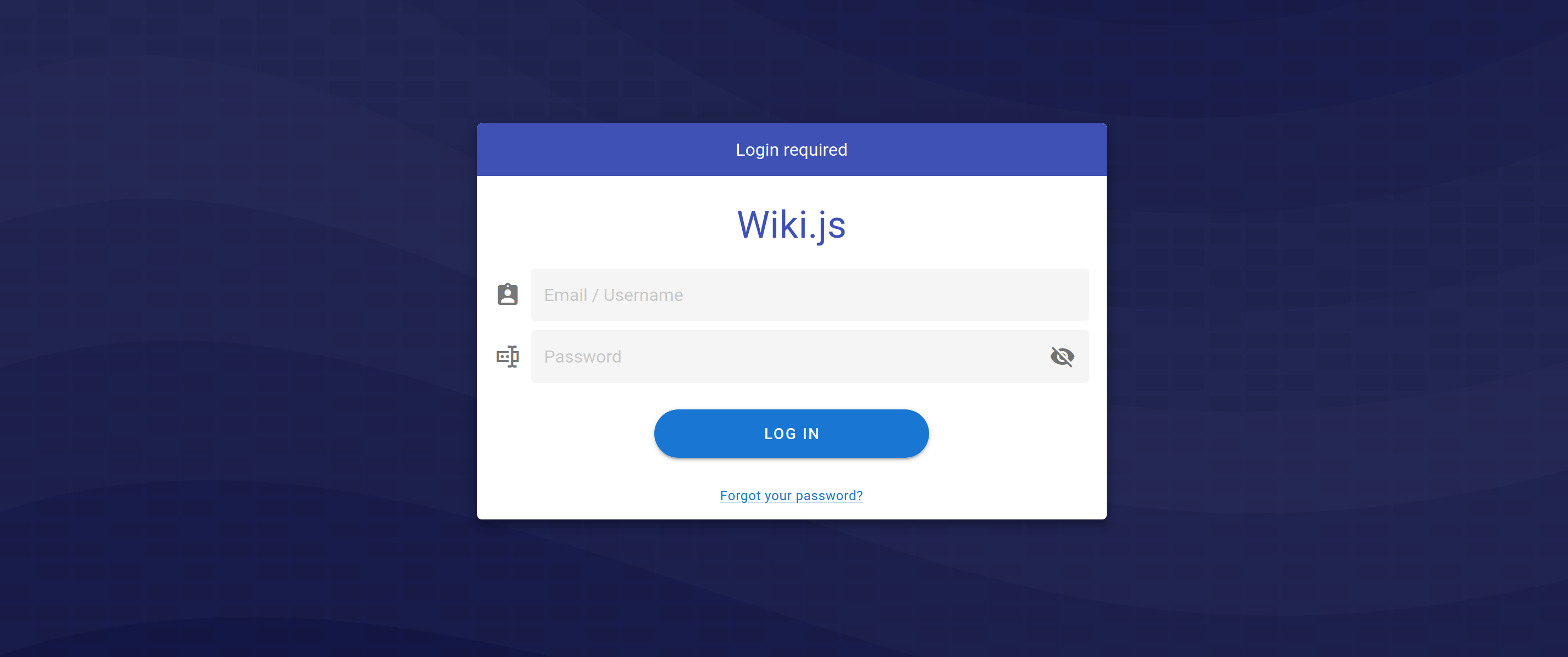 Wiki.js Screenshot 2