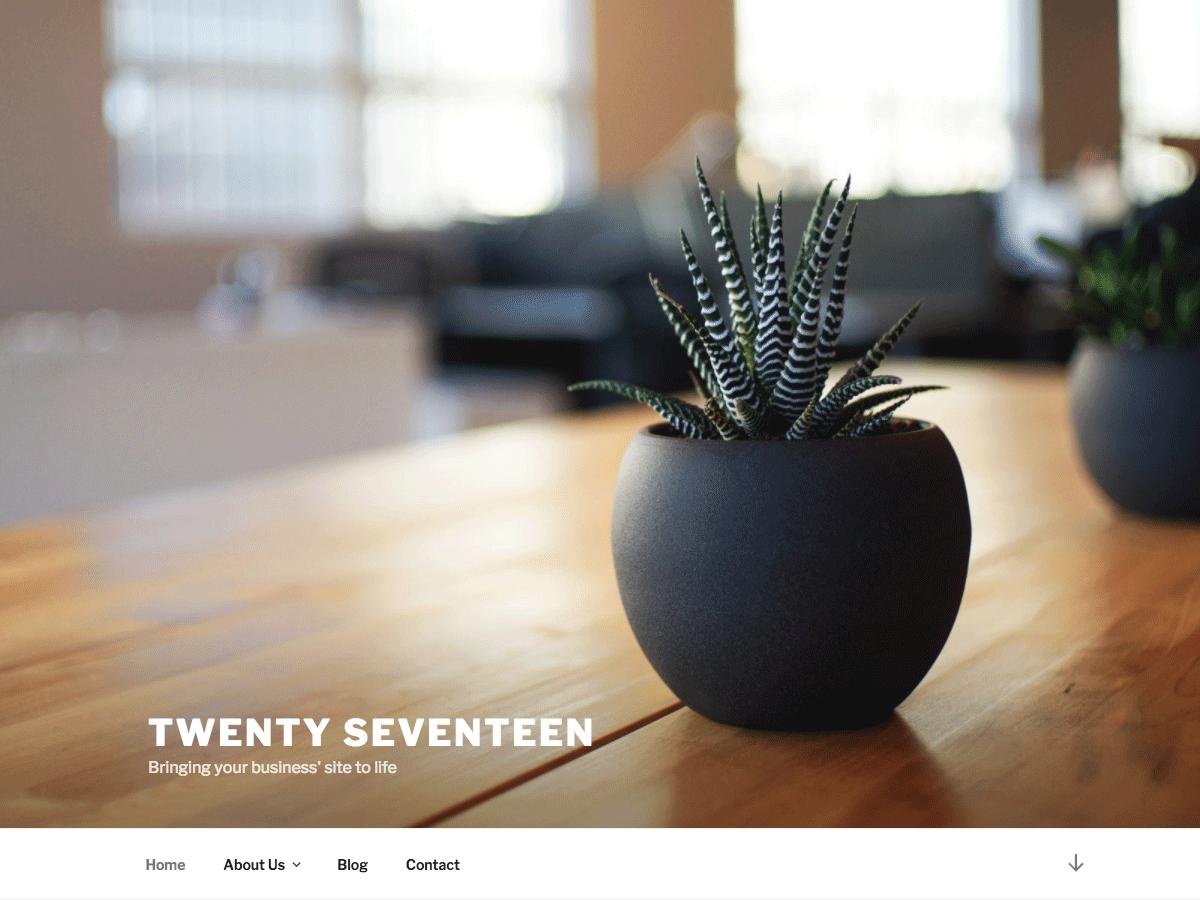 WordPress (Developer) Screenshot 2