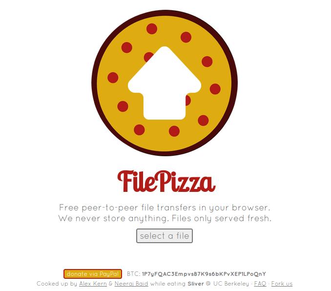 File Pizza Screenshot 1